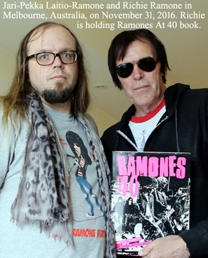 RAMONES  LATEST RAMONES NEWS Hard cover book titled Ramones At    is written by veteran music journalist Martin Popoff  Book was published on April