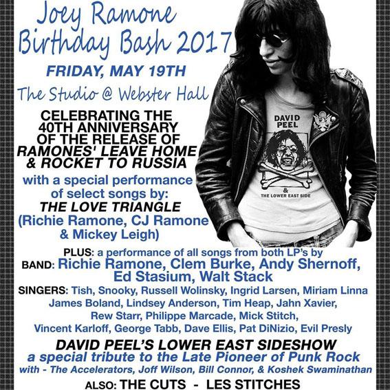 Ramones Joey Ramone Passed Away